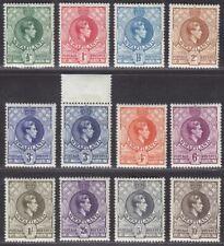 Swaziland 1938 KGVI perf 13½ x 13 Set Mint SG28-38 cat £250+