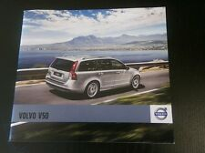 2010 Volvo V50 48-page Original Car Sales Brochure Catalog - MY11I USA Version