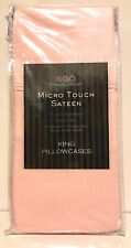 Microtouch Sateen King Pillowcase (set Of 2) In Mauve Chalk 600 Thread Count