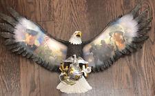 "Bradford Exchange Wings Of Freedom, ""Soaring Pride� by James Griffin Usmc Symbol"