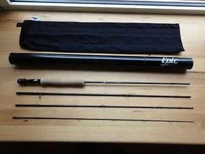 Epic 5 Weight 590C Carbon Fibre Fly Rod 9 Foot Excellent Condition
