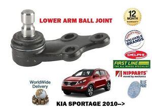 FOR KIA SPORTAGE 1.6 1.7 2.0 CRD 2010-->NEW 1 X LOWER WISHBONE BALL JOINT KIT
