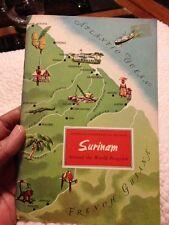 1958 American Geographical Society Around the World Program SURINAM