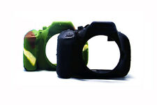 Silicone Armor Skin Case Camera Cover Protector for Nikon D5100 D5200 Camera SLR