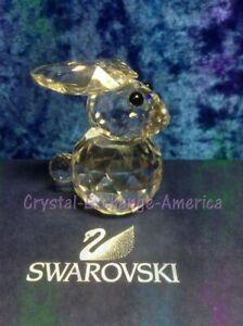 Swarovski Large Rabbit (US/Canada release) 013725.  Retired 1988. MIB+COA