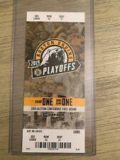 2019 NHL Playoffs Boston Bruins vs Toronto Maple Leafs Game 2 Ticket Stub 4/13