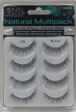 Ardell 110 NATURAL MULTI PACK (4 Pairs)  False Eyelashes Fake Lashes