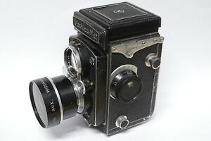 Yashica Yashica-Mat 6x6 Kamera mit stärkeren Gebrauchsspuren für Bastler