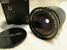 Tamron SP 28-80 mm 3.5-4.2 CF MC MACRO ZOOM lenswith CASE
