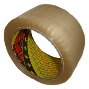36 x 3M CLEAR packing 371 parcel tape 48mm x 66M