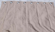 New Panel Drape Curtain with Grommets Mushroom 48 x 95