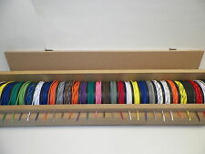 1200 FEET GXL TXL AUTOMOTIVE  WIRE CADDY 16 18 20 22  SOLID STRIPED COLOR WIRING
