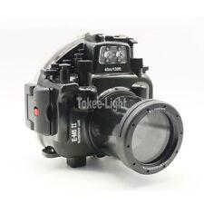 Waterproof Underwater Camera Housing Case for Olympus E-M5 EM5 II 12-50mm Lens