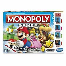 MONOPOLY GAMER - NINTENDO SUPER MARIO CHARACTERS HASBRO GAMING **BRAND NEW**