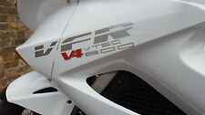 FOR HONDA VFR 800/1200 DECALS STICKERS X 2 fairing V4 colours available 295MM