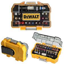 Dewalt Screwdriver Bits Set Magnetic Bit Duty Kit 32 Pcs Drill Compact Tool Case