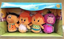 Hallmark Itty Bitty Flintstones Collector Set 2017 Fred Wilma Pebbles Dino Nib