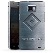Samsung Galaxy S2 Premium Case Cover - Nur der HSV Metalllook