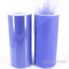 "6""x 25YD Tulle Roll Spool Tutu Wedding Party Gift Wrap Fabric Craft Decorations"