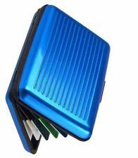 Portadocumentos de hombre Tarjetero en color principal azul