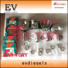 Kubota engine rebuild parts V2607 V2607-DI piston + ring + engine gasket kit