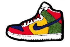 XXL Large Cool Chenille Basketball Hi Top Shoe Shirt Patch 7.5in / 19cm Applique