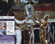 STAR WARS ANTHONY DANIELS & KENNY BAKER SIGNED PHOTO JSA COA C-3PO R2-D2 RARE!