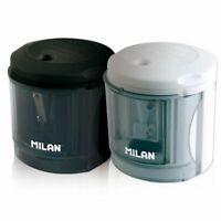 MILAN Power Sharp Sacapuntas eléctrico con depósito 1 agujero