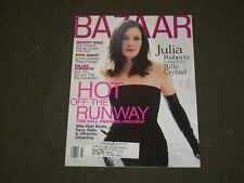 2001 JULY HARPER'S BAZAAR MAGAZINE - JULIA ROBERTS COVER - B 3621