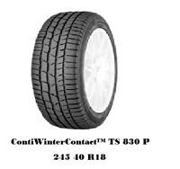 Winterreifen 245/40 R18 97V Continental ContiWinterContact™ TS 830 P TOP ZUSTAND