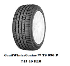 Winterreifen 245/40 R18 97V Continental ContiWinterContact™ TS 830 P TOP ZUSTAND