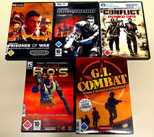 5 pc giochi collezione BET ON SOLDIER SNOWBLIND Conflict GI Combat EGO Shooter 18