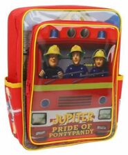 Trade Mark Collections Fireman Sam Backpack School Bag with Front Pocket