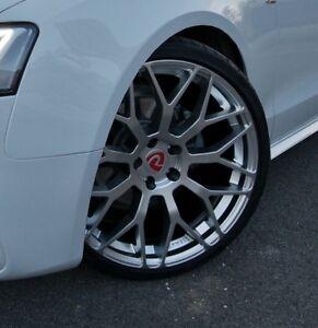 "20"" Audi A5 S5 RS5 Alloy Wheels - Raywell JRR - Hyper Silver - 5x112"