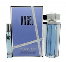THIERRY MUGLER ANGEL GIFT SET 100ML EDP REFILLABLE + 7.5ML EDP - WOMEN'S. NEW