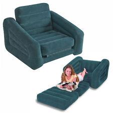 sofa bed materasso gonfiabile divano letto poltrona singolo 68565 Verdone Intex