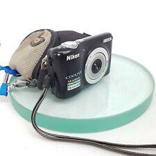 Nikon Coolpix L25 Compact Digital Camera(10.1MP 5X OPTICAL ZOOM 3 inch lens)163