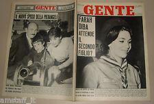 GENTE 1962/3=FARAH DIBA=GIAMPIERO BONIPERTI=ARTURO DAZZI=FIORENZA COSSOTTO=