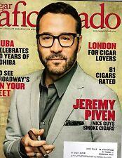 CIGAR AFICIONADO - April 2016 - JEREMY PIVEN Cover - Cuba, London, Entourage