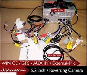 6.2 inch head unit CAR DVD GPS Player stereo For Toyota Tarago Estima 2003-2016