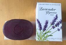 CRABTREE & EVELYN Lavender Glycerine Soap 3.5 oz NIB from Switzerland
