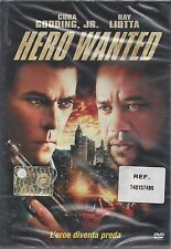 Dvd **HERO WANTED** con Cuba Gooding Gr. Ray Liotta nuovo sigillato 2008