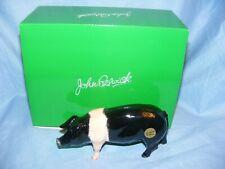 John Beswick Saddleback Pig Farmyard Series JBF96 Brand New Boxed
