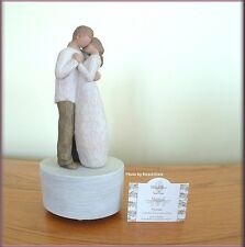 PROMISE MUSICAL FIGURINE ON ROTATING BASE FROM WILLOW TREE® FREE U.S. SHIPPING