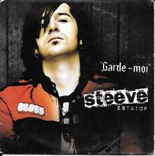 CD SINGLE 3 TITRES--STEEVE ESTATOF--GARDE MOI--2004