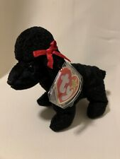 TY Beanie Baby GiGi Poodle MINT CONDITION - Born April 7, 1997 - Free Shipping!
