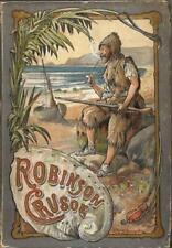 British Library Ereader/tablet Case-Robinson Crusoe/Daniel Defoe 20x14.5x2.5cm