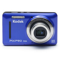 "Kodak FZ53-BL Point and Shoot Digital Camera with 2.7"" LCD, Blue"