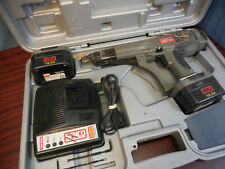 Senco Duraspin Ds275 18v Screw Fastening System Battery Case Charger Complete