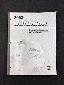 2003 Johnson Service Manual ST 4 Stroke 4 5 HP Outboard Motor 5005472